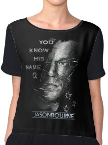 Jason Bourne Chiffon Top