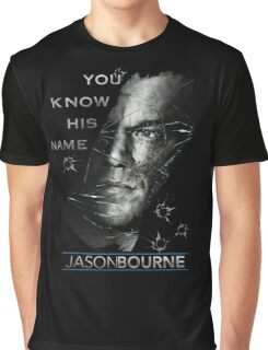 Jason Bourne Graphic T-Shirt