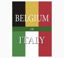 BELGIUM or ITALY - UEFA Euro 2016 One Piece - Short Sleeve