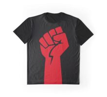 red fist Graphic T-Shirt