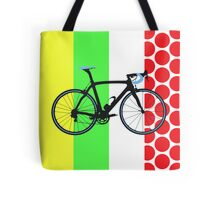 Bike Tour de France Jerseys (Vertical) (Big - Highlight)  Tote Bag