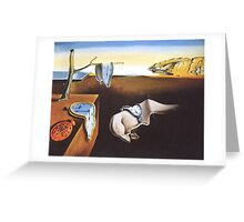 The Persistence of Memory by  Salvador Dali  Greeting Card