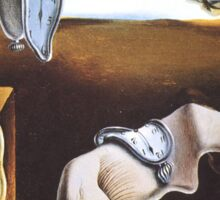 The Persistence of Memory by  Salvador Dali  Sticker