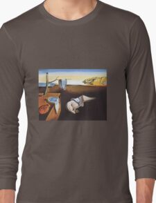 The Persistence of Memory by  Salvador Dali  Long Sleeve T-Shirt