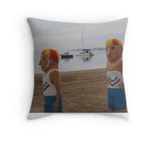 Bollard Geelong Throw Pillow