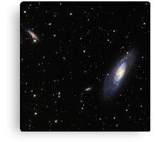 Spiral Galaxy M106 Canvas Print