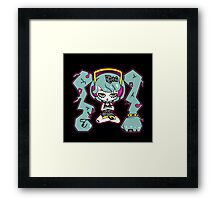 Hairy Metal by Lolita Tequila Framed Print
