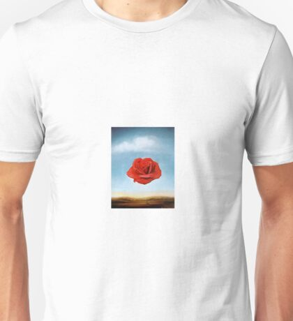 The Meditative Rose by Salvador Dali Unisex T-Shirt