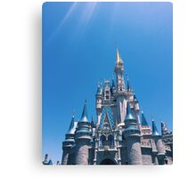 Blue Skies and Castle Views Canvas Print