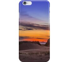 Sand Dunes Sunset iPhone Case/Skin