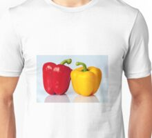 Red and yellow peppers Unisex T-Shirt