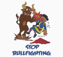 END BULLFIGHTING! by NHR CARTOONS .