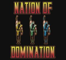 Ninjas of Domination by G-Spark