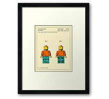 TOY FIGURE (1979) Framed Print