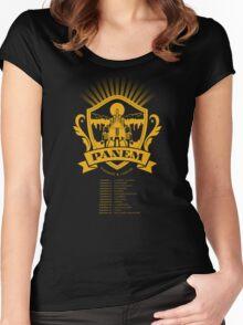 PANEM Women's Fitted Scoop T-Shirt