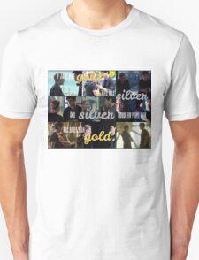 Silver is rarer than gold. T-Shirt