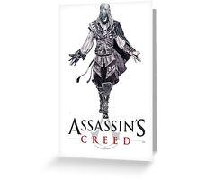 Ezio Auditore Da Firenze Greeting Card