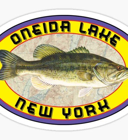 ONEIDA LAKE NEW YORK BASS FISHING FISH LARGEMOUTH SMALLMOUTH SYRACUSE Sticker