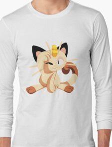 meowth. Long Sleeve T-Shirt