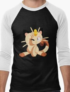 meowth. Men's Baseball ¾ T-Shirt
