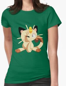 meowth. Womens Fitted T-Shirt