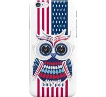 Patriotic Owl 2 iPhone Case/Skin