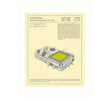 COMPACT VIDEO GAME SYSTEM (1993) Art Print