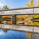 Covered Bridge at Darlington by Kenneth Keifer