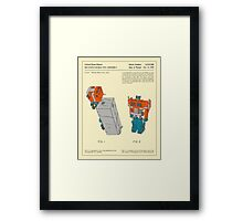 RECONFIGURABLE TOY (1985) Framed Print