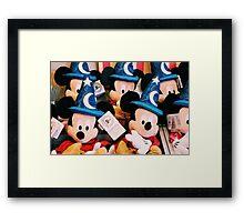 Sorcerer Mickey Framed Print