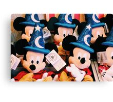 Sorcerer Mickey Canvas Print