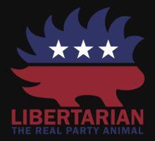 Gary Johnson - The Libertarian Party Animal Kids Tee