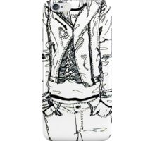 Girl in JD Tee Doodle iPhone Case/Skin