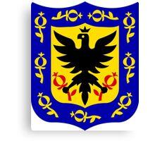 Coat of Arms of Bogotá Canvas Print