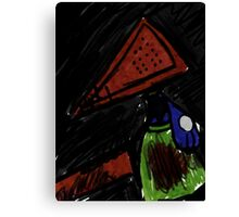 Pyramid Head Riolu Canvas Print