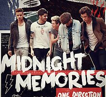 One Direction 'Midnight Memories' Print by SebastianDesign