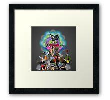 80's Lover  Framed Print