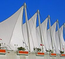 Canada Place Sails by Lesliebc