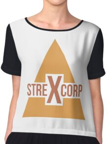 StrexCorp Logo (New) Chiffon Top
