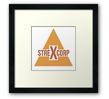 StrexCorp Logo (New) Framed Print