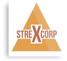 StrexCorp Logo (New) Metal Print
