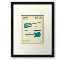 GUITAR (1951) Framed Print