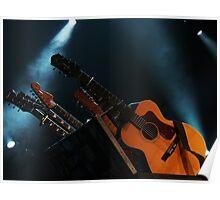 Kasey Chambers' Guitars Poster