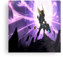 Ratchet and Clank Metal Print