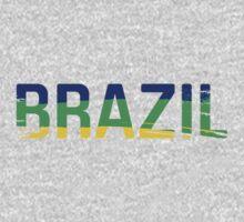 Brazil One Piece - Short Sleeve