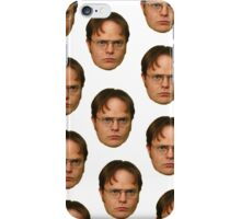 DWIGHT SCHRUTE DUPLICATE iPhone Case/Skin