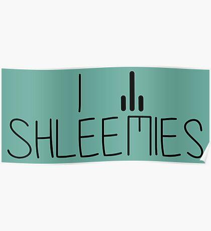 Shleemies - Rick and Morty Poster