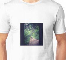 Nadia's Hiking Adventure in New England  Unisex T-Shirt