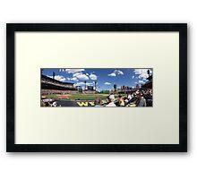 PNC Park Panorama Framed Print