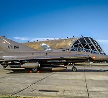 SAAB TF-35 Draken 351156 AT-156 by Colin Smedley